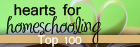 Hearts for Homeschooling: Top 100 Blogs